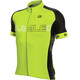 Alé Cycling Solid Block Short Sleeve Jersey Men fluo yellow-black